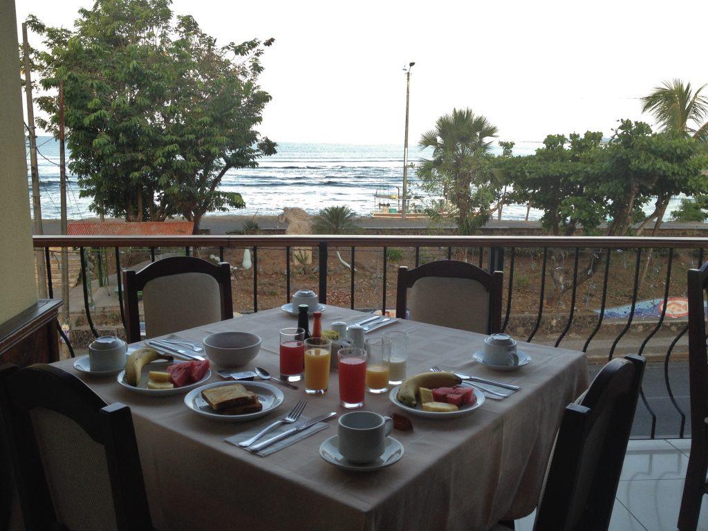 Petit déjeuner quepos best western costa rica