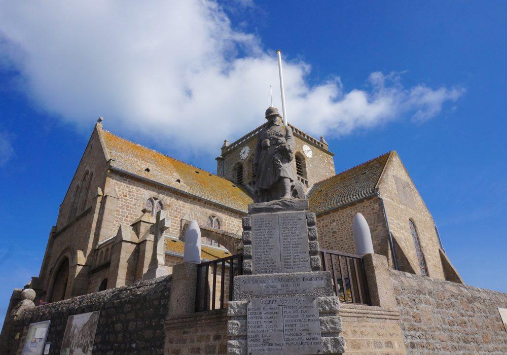 église de barfleur normandie
