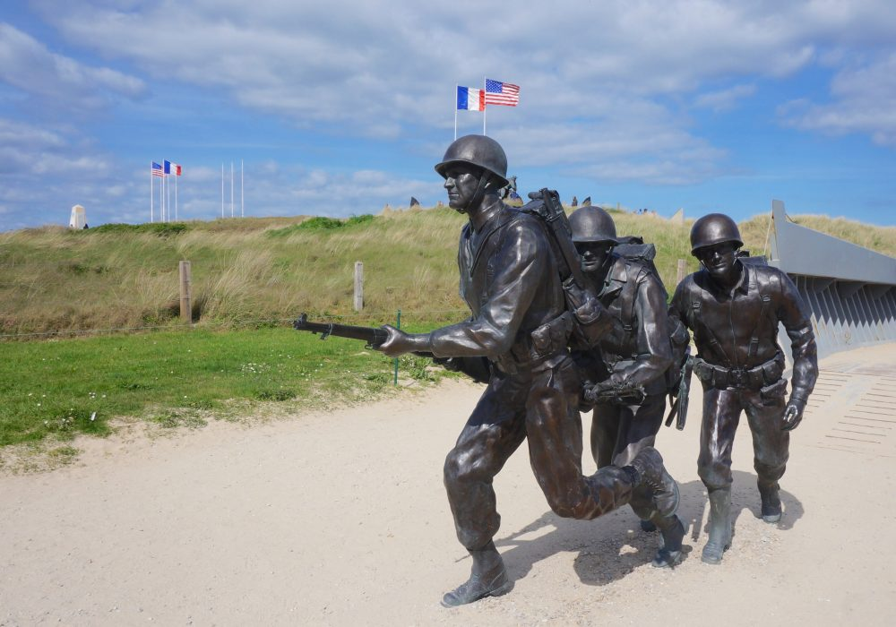 utah beach normandie