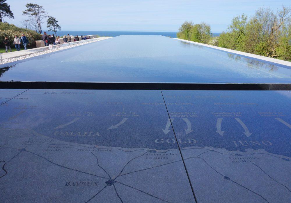 cimetière américain, plages du débarquement normandie