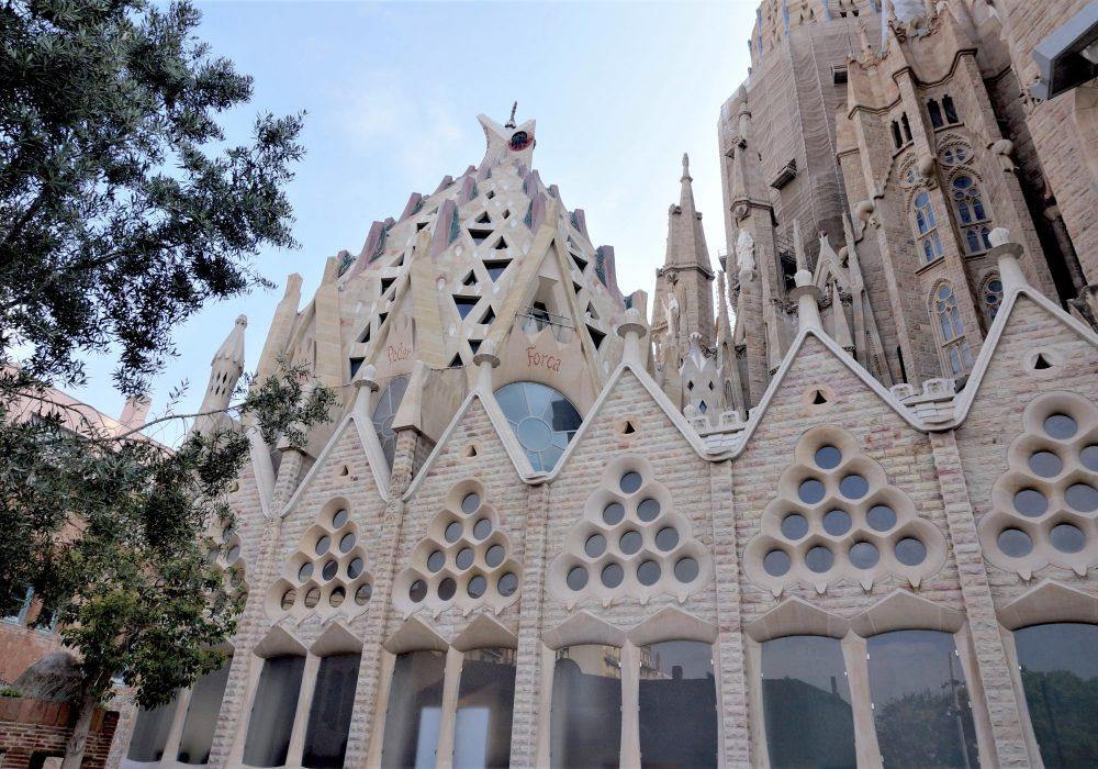 Crypte - Sagrada Familia - Barcelone - Espagne
