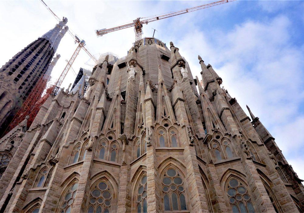 L'abside - Sagrada Familia - Barcelone - Espagne