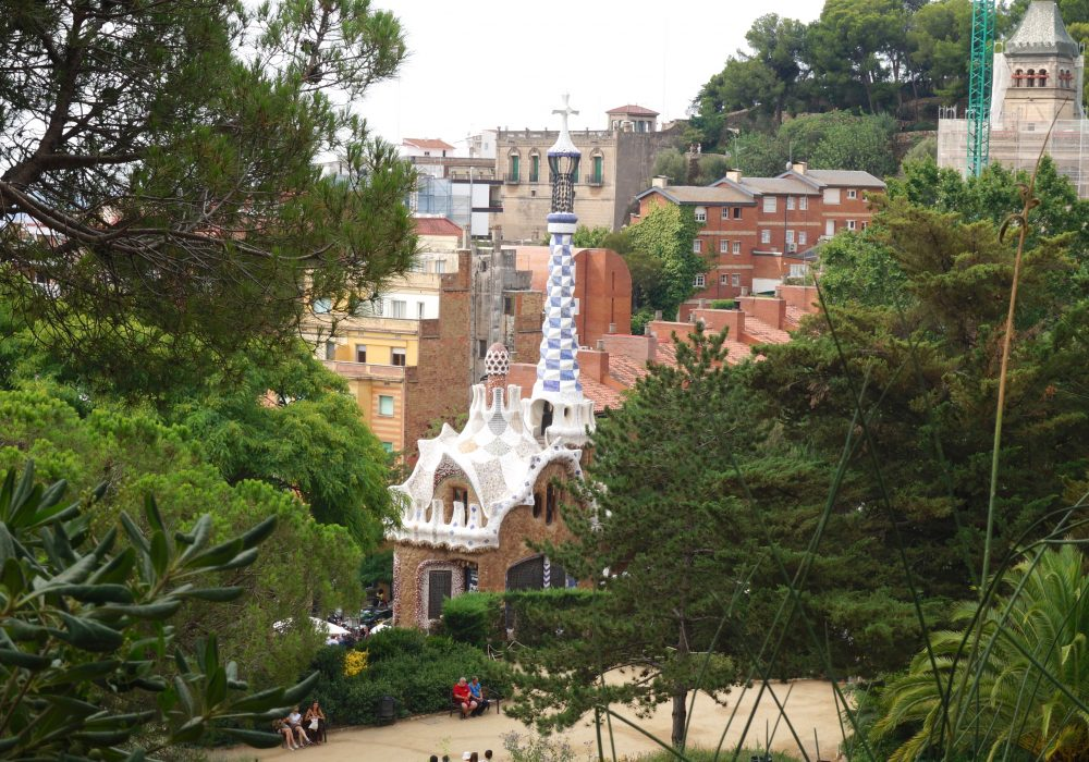 parc guell - barcelone - espagne