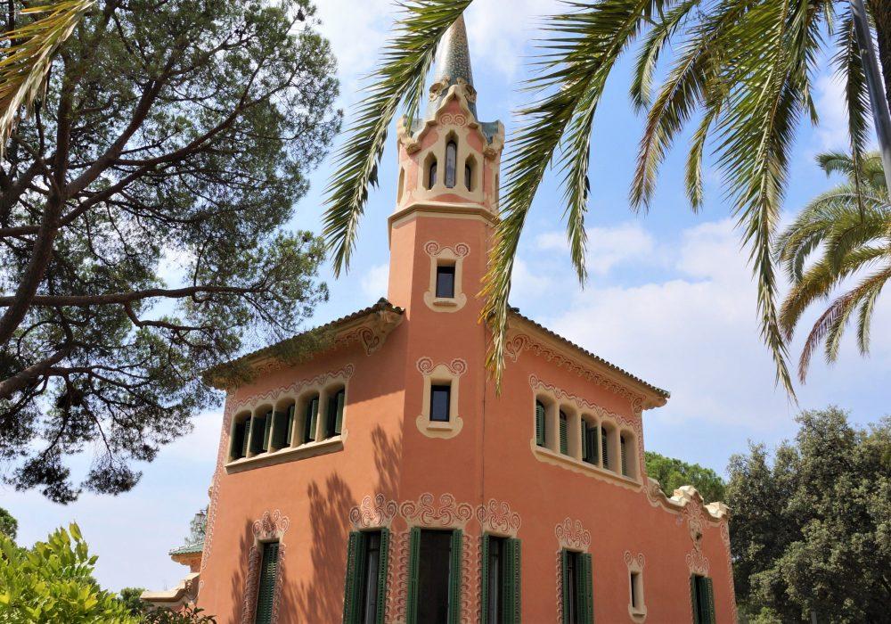 Maison Musée de Gaudi - Parc Guell - Barcelone - Espagne