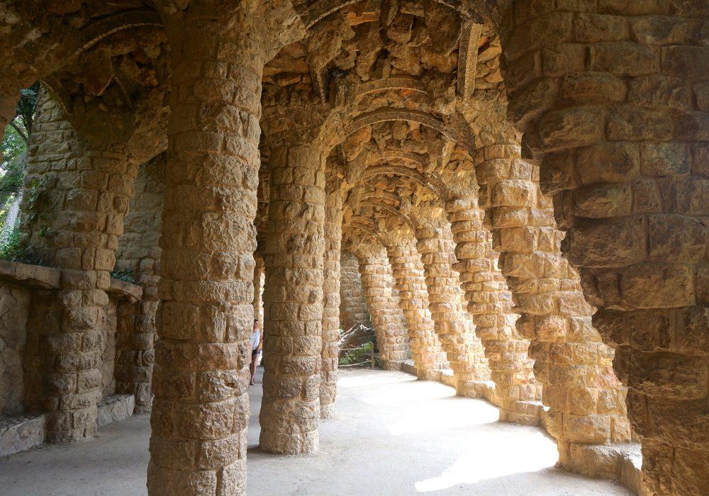Viaduc - Parc Guell - Barcelone - Espagne
