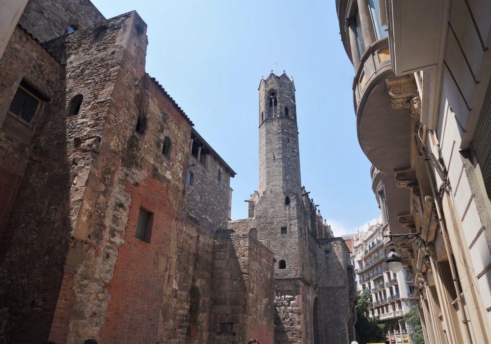 Carrers dels Comtes, arrière de la Cathédrale la Seu, Barcelone, Espagne