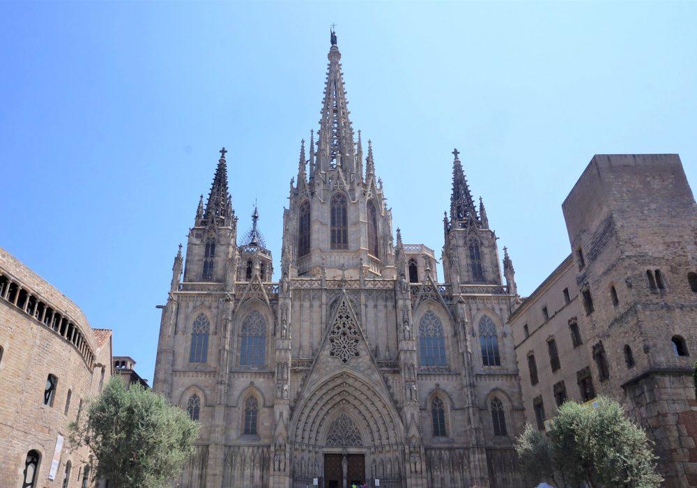 Cathédrale Sainte-Croix, la Seu, Barcelone, Espagne