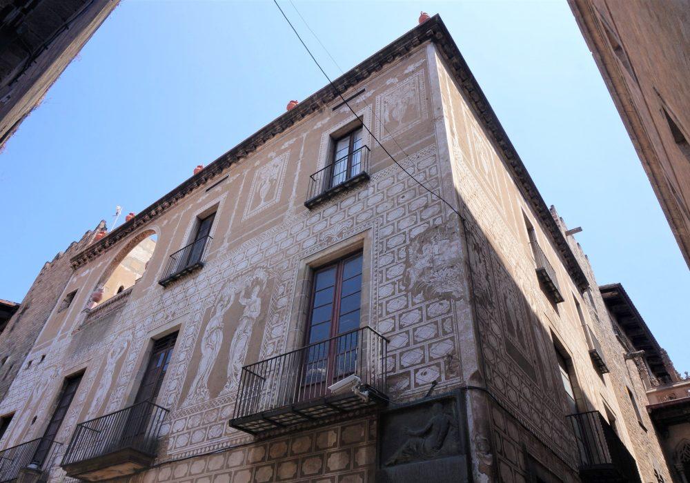 Immeuble de l'Ordre des Architectes de Catalogne, barrio gotico, Barcelone, Espagne