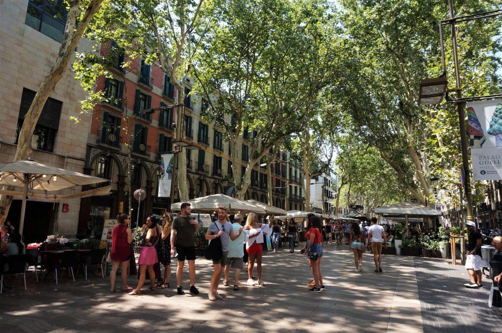 Las Ramblas, Barcelone, Espagne
