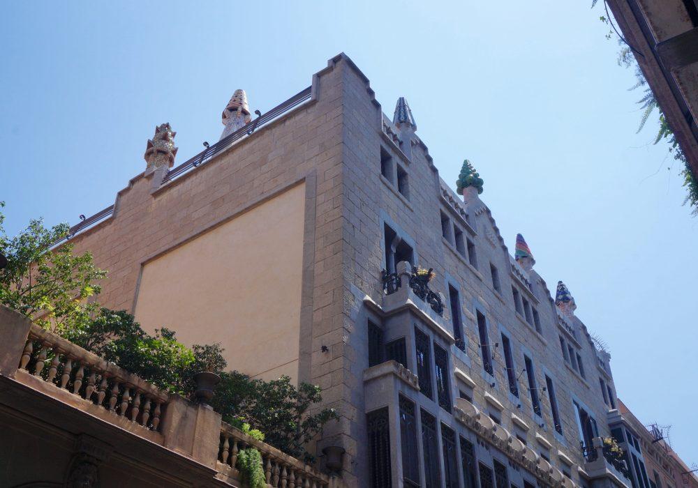 Palais Guell - Barcelone - Espagne