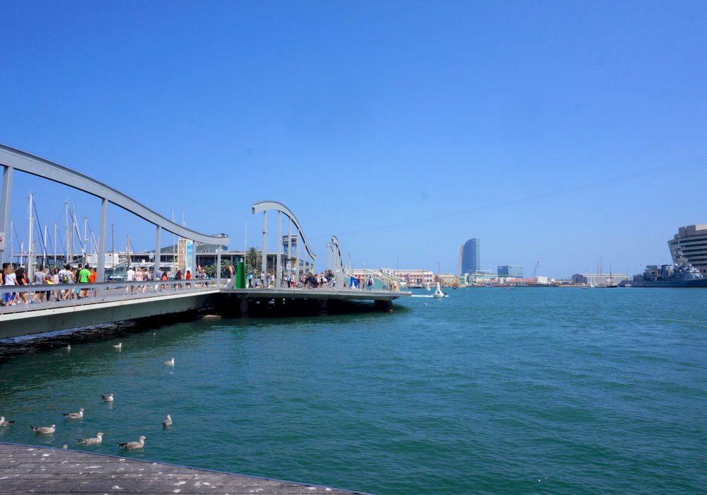 Vieux Port de Barcelone, Espagne