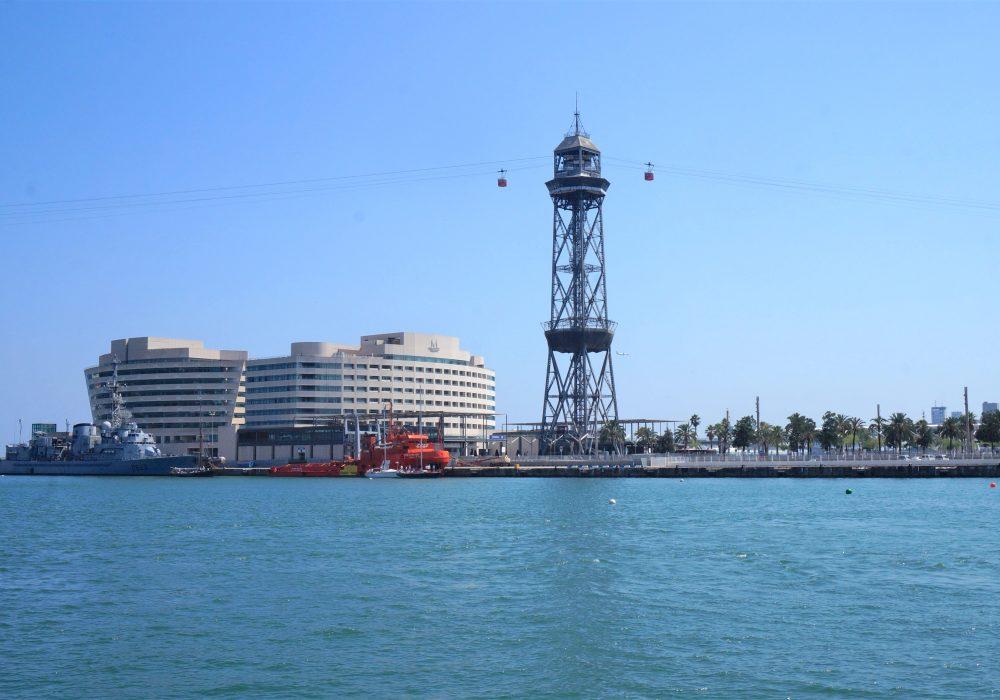 Vieux Port de Barcelone, Téléphérique, Espagne