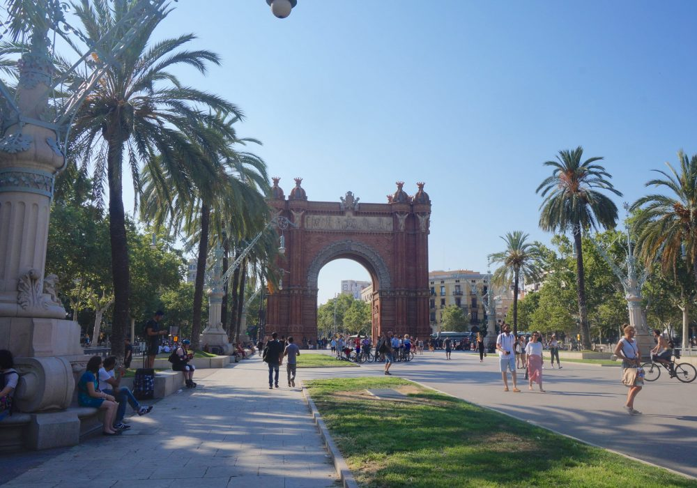 Arc de triomphe, Barcelone, Espagne