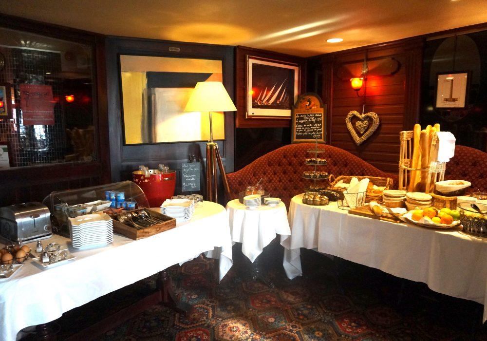 petit déjeuner hôtel la régence cherbourg normandie