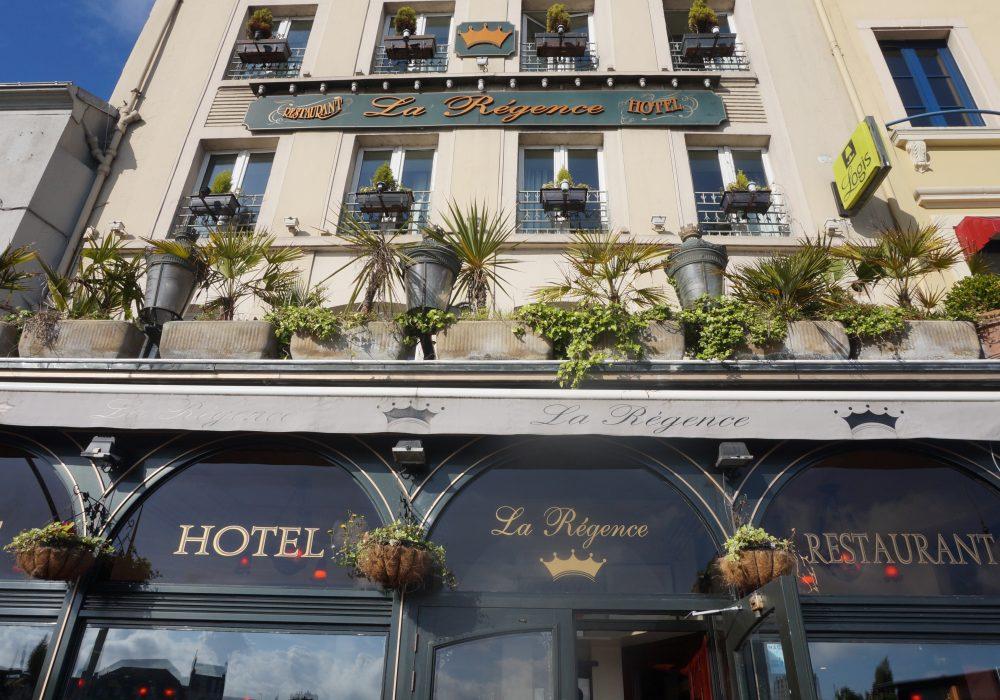 hotel la régence cherbourg normandie
