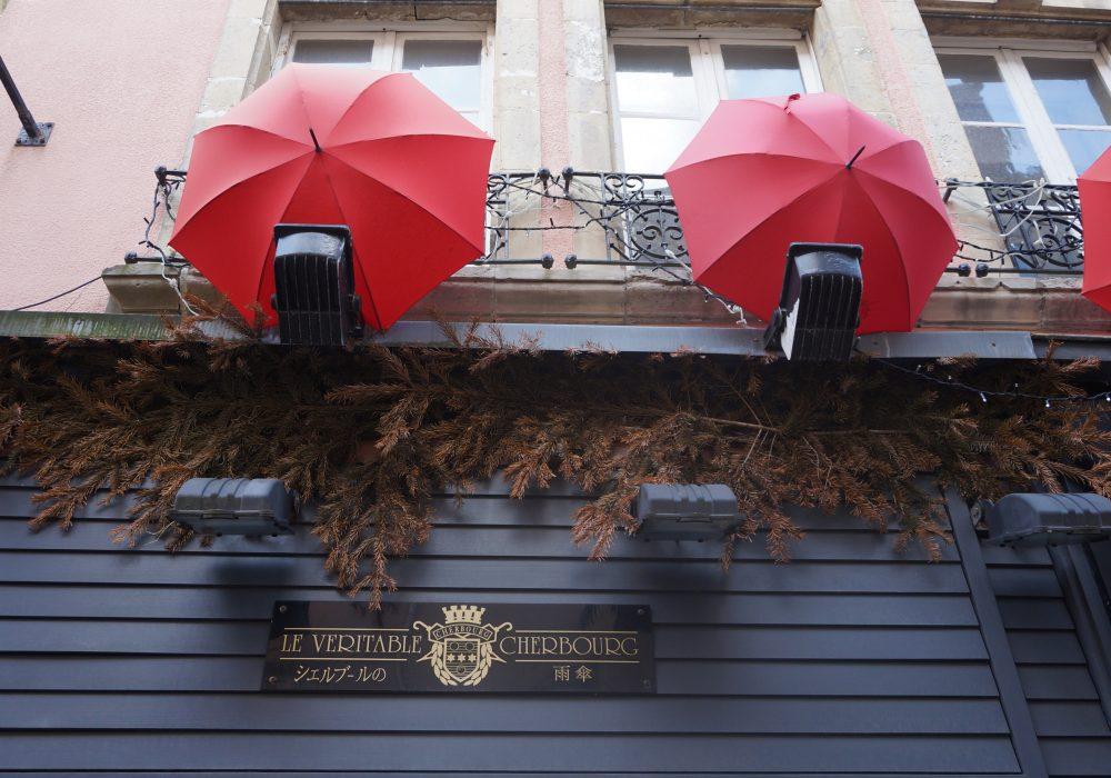 parapluies de cherbourg normandie