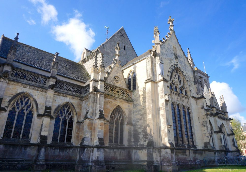 basilique cherbourg normandie