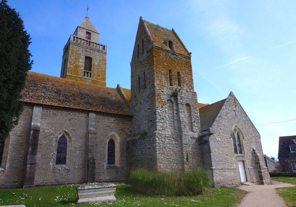 église village tocqueville normandie