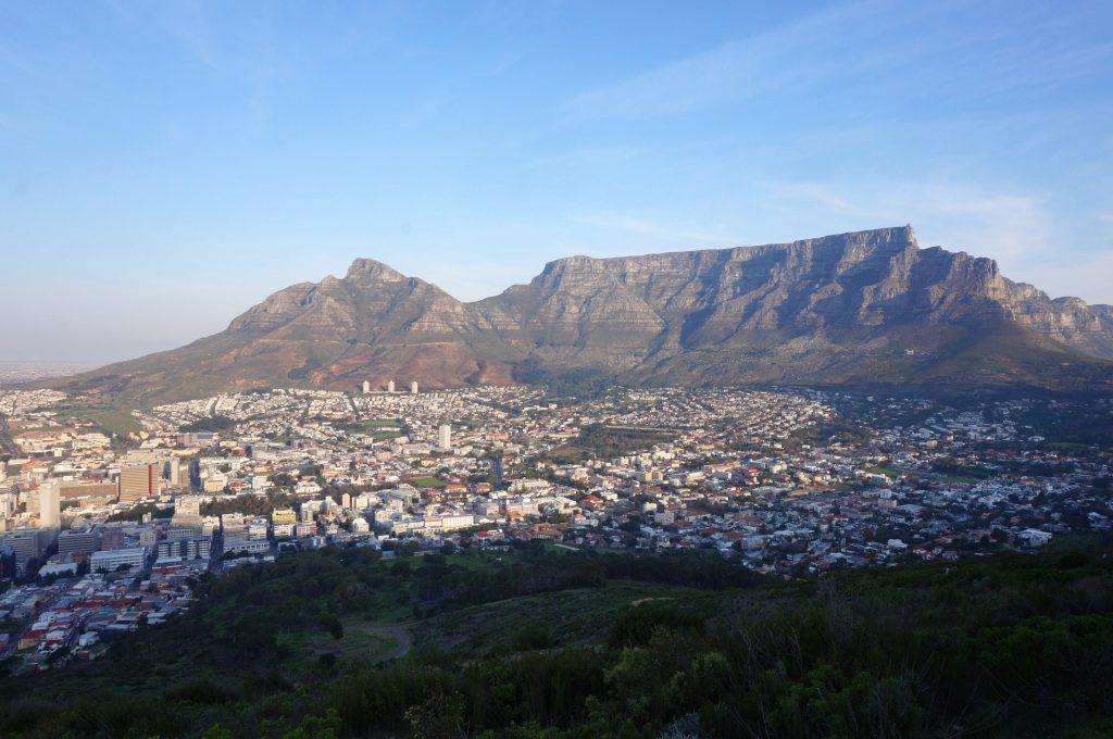 Cape town, signal hill, afrique du sud