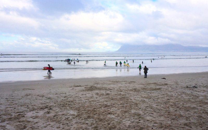 Muizenberg beach, Cape Town, Afrique du Sud