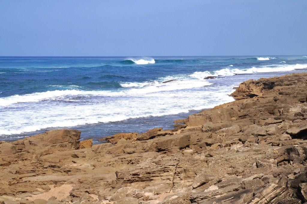 Mission rocks beach, iSimangaliso Wetland Park, afrique du sud