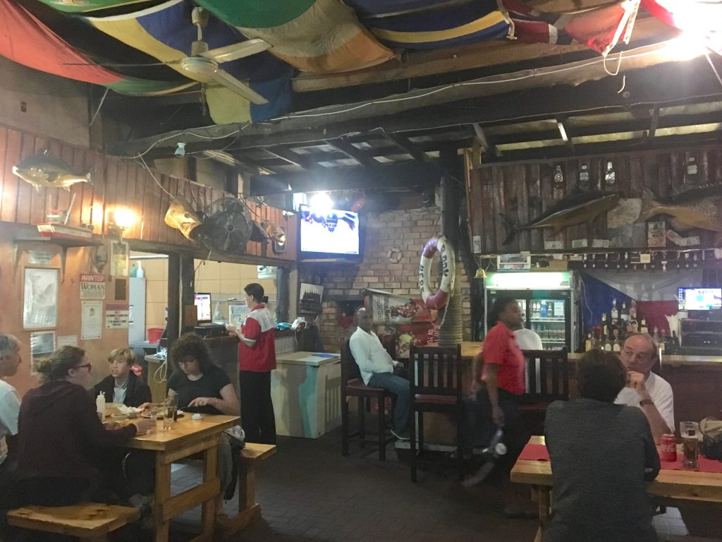 restaurant ste lucia, Fisher's man, afrique du sud
