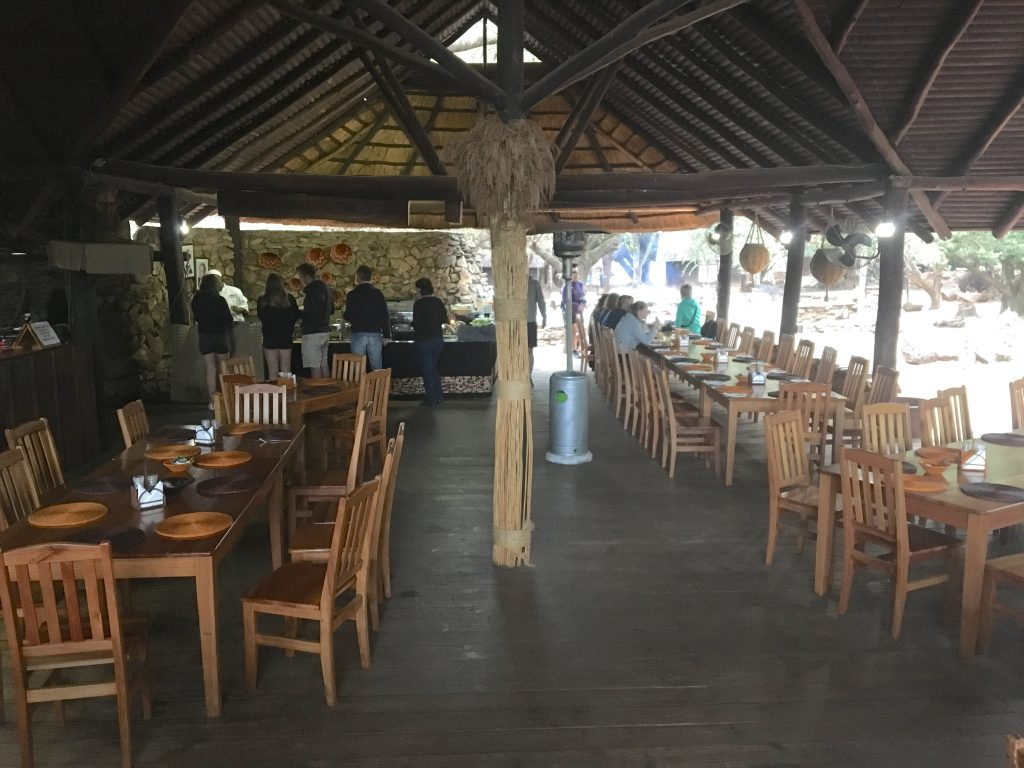 restaurant, Mlilwane Wildlife Sanctuary, Swaziland