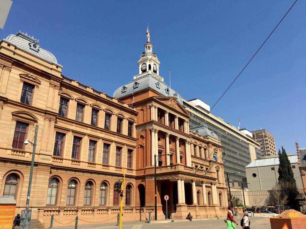 Raadsaal, Church square, prétoria, afrique du sud