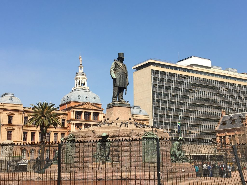 Church square, prétoria, afrique du sud