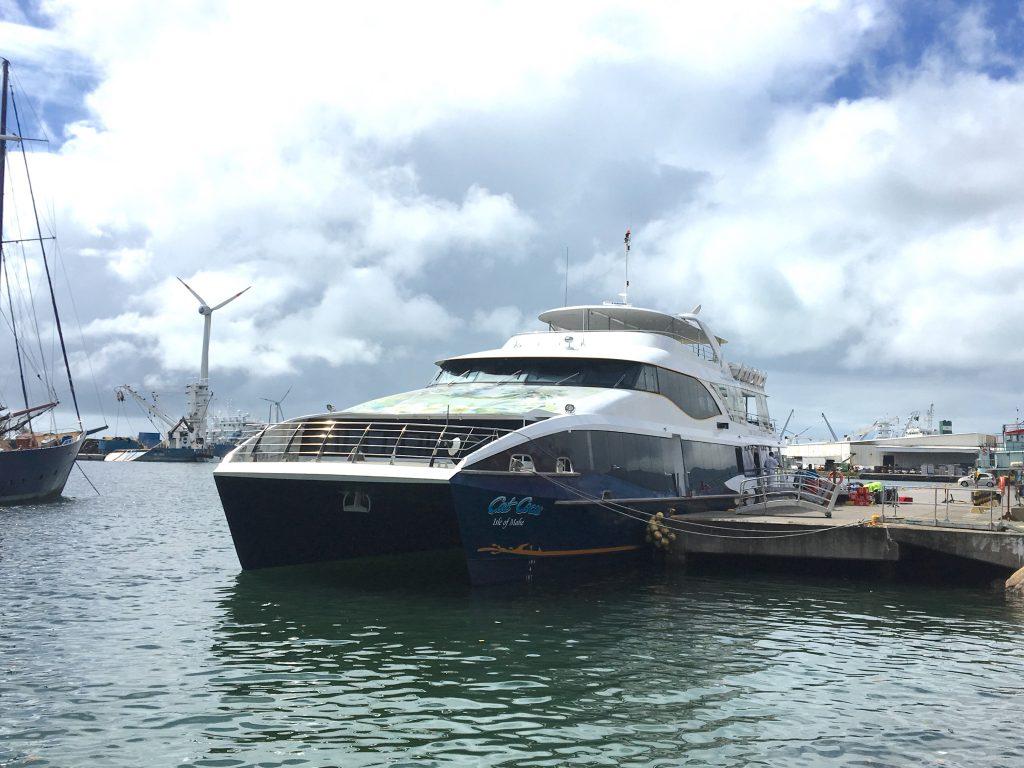 ferry cat cocos, mahé, seychelles
