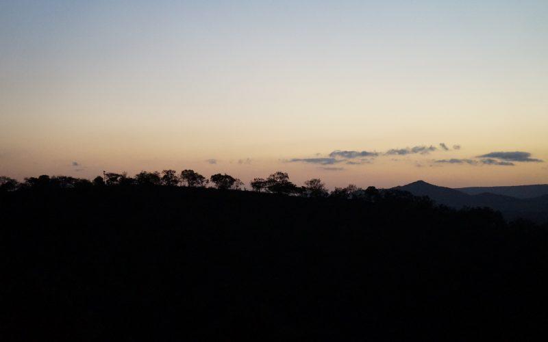 coucher de soleil Lodge Zulu Nyala heritage, afrique du sud