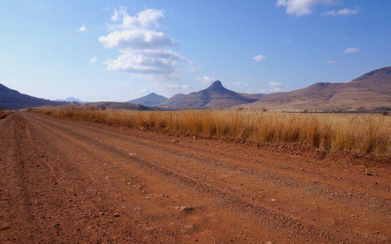 paysage, afrique du sud, vers pilgrim's rest