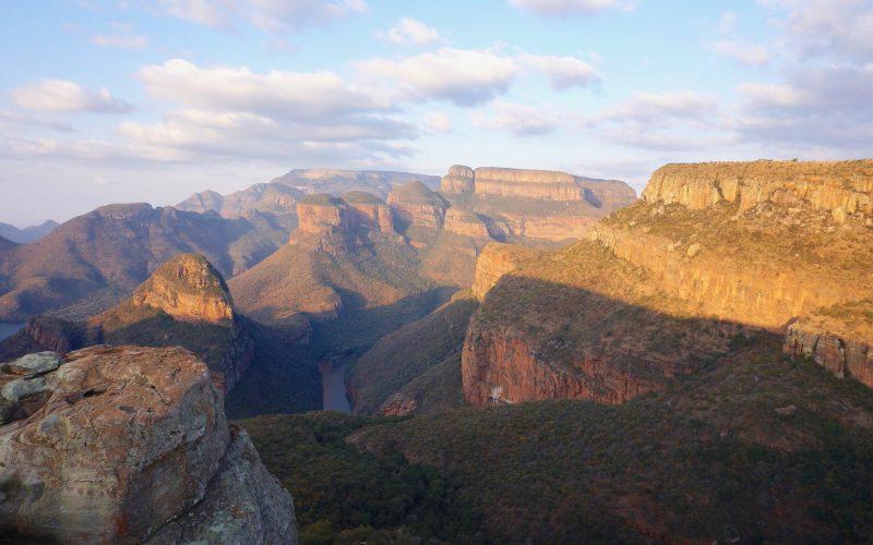 blyde river canyon, three rondavels, afrique du sud
