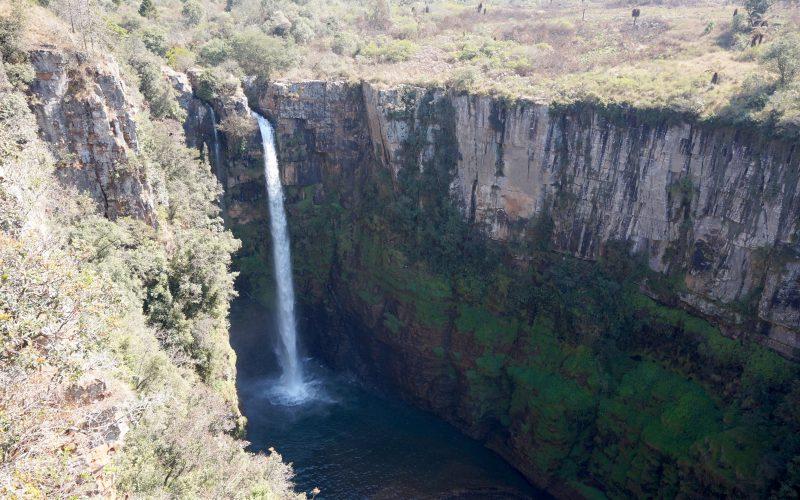 cascade mac mac falls, afrique du sud