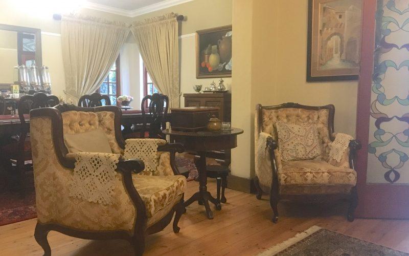 salon, fernivy guesthouse, pretoria, afrique du sud