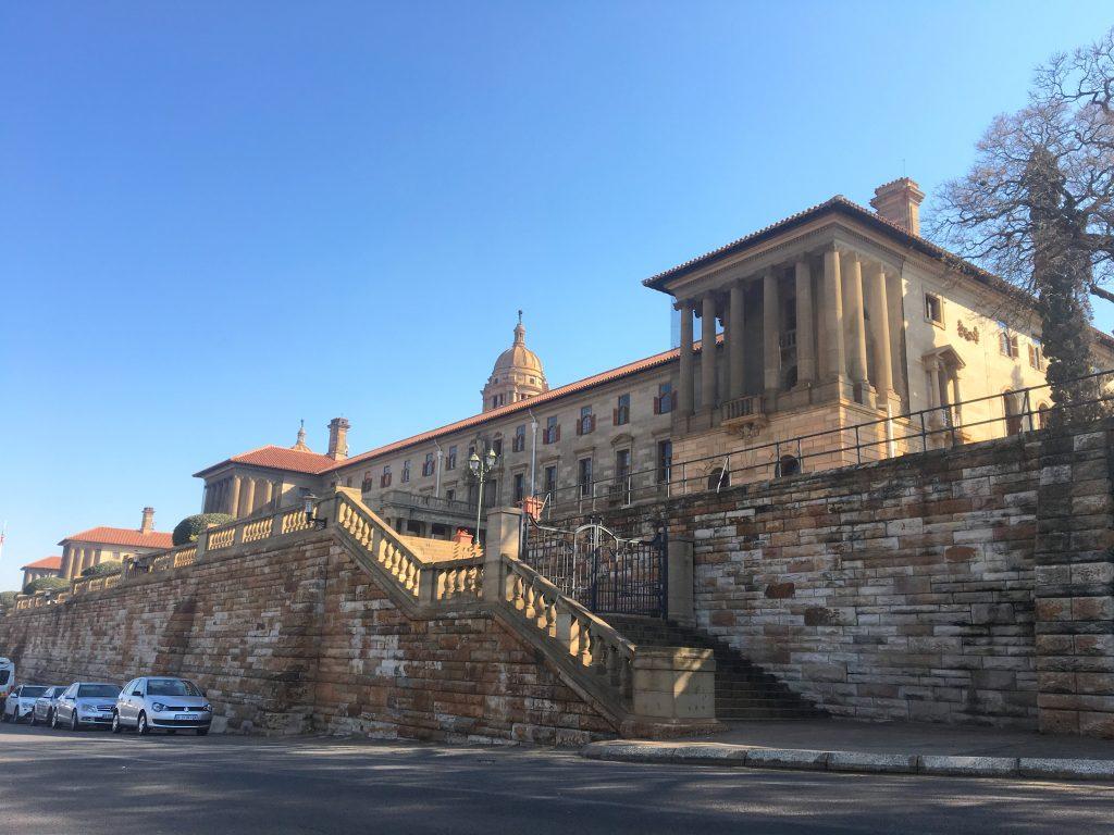pretoria, union buildings, afrique du sud
