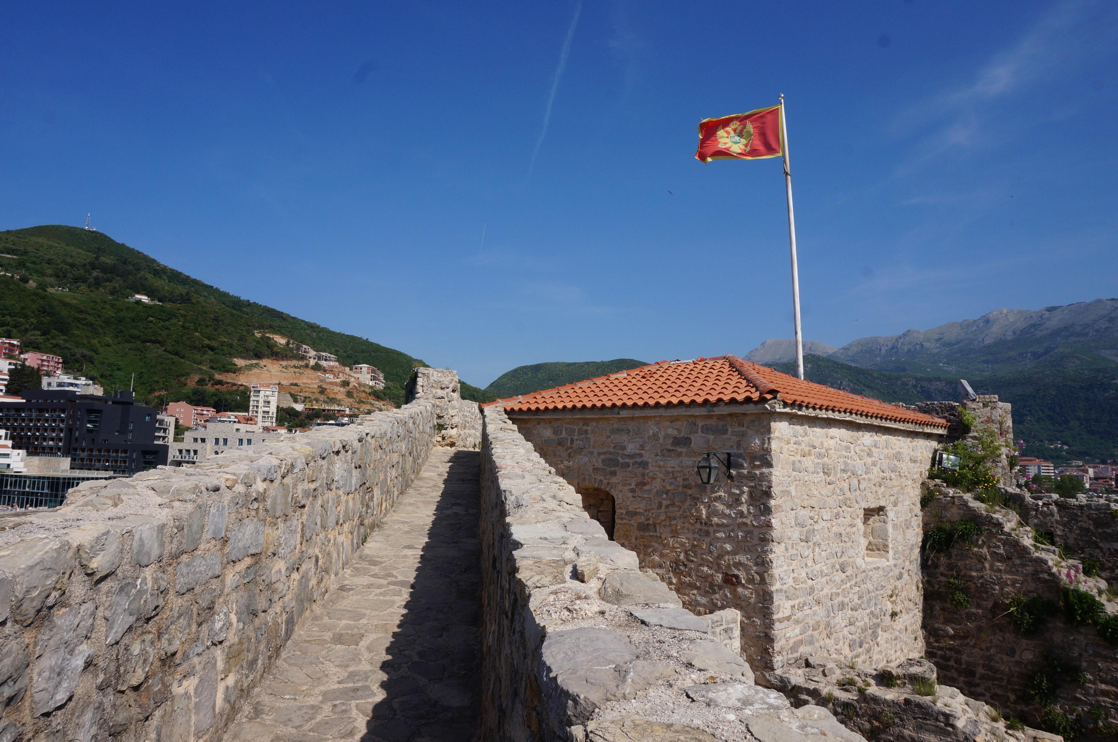 drapeau du monténégro