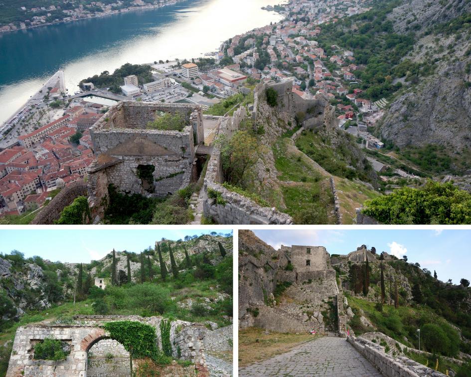 forteresse de kotor monténégro