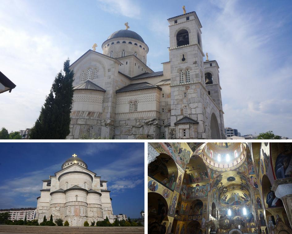 cathédrale orthodoxe de la Résurrection du Christ monténégro Podgorica