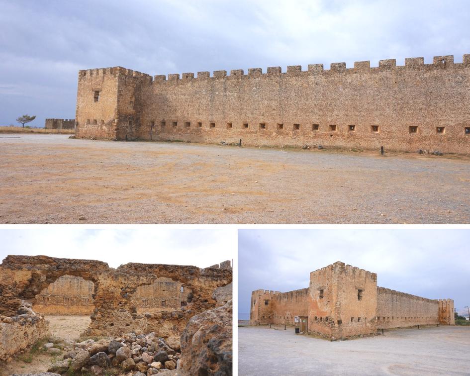 forteresse de Frangokastello - crête - grèce