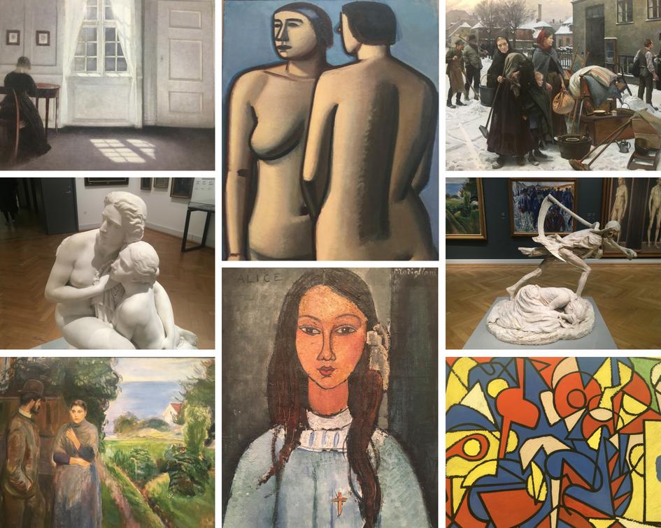 copenhague musée des beaux arts