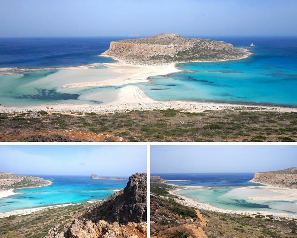 lagon de balos - presqu'ile de Gramvoussa - crète - grèce