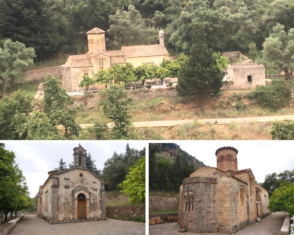 église Agios Nikolaos - Kiriakoselia - crète - grèce