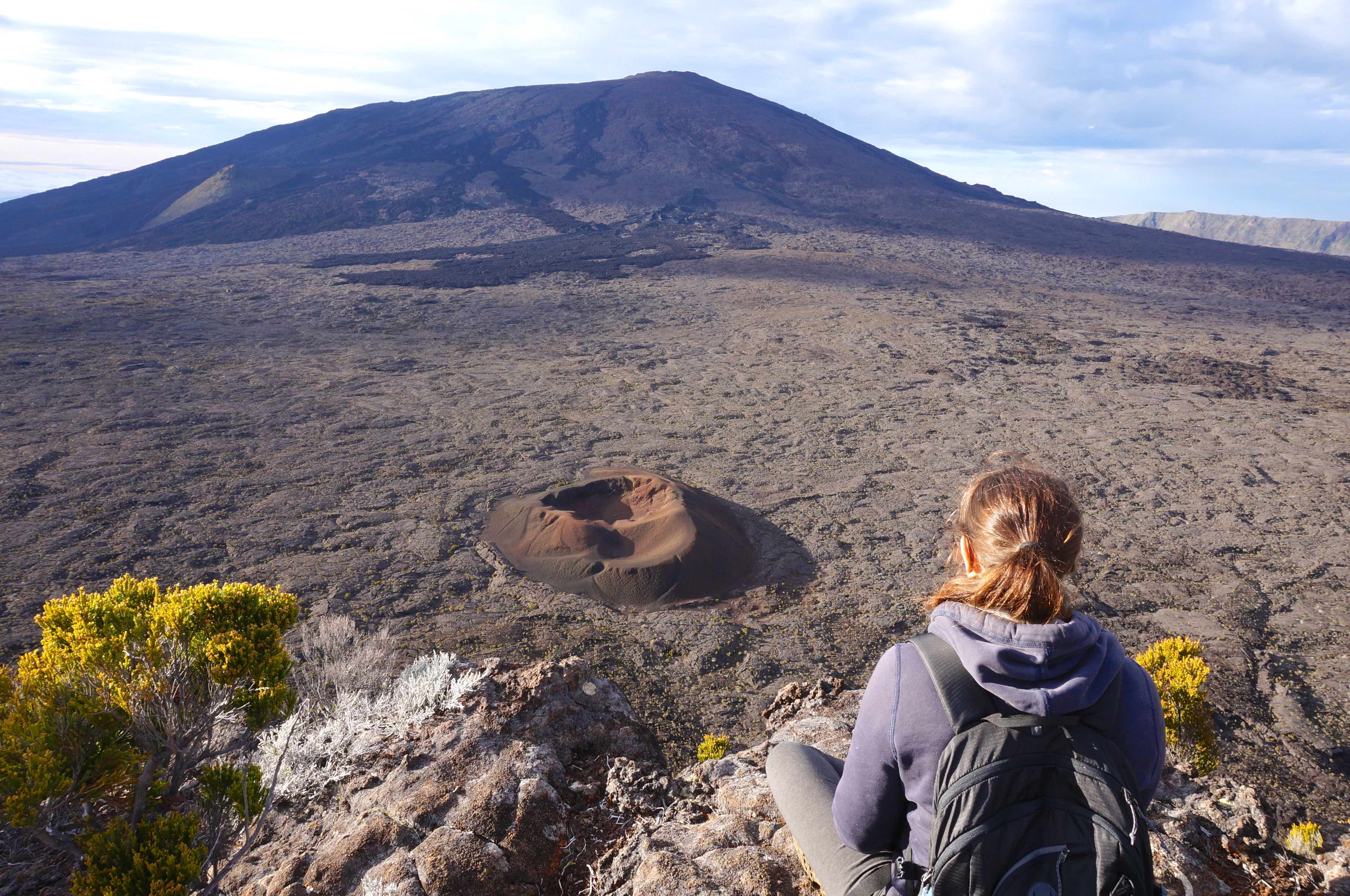 volcan fornica réunion piton de la fournaise