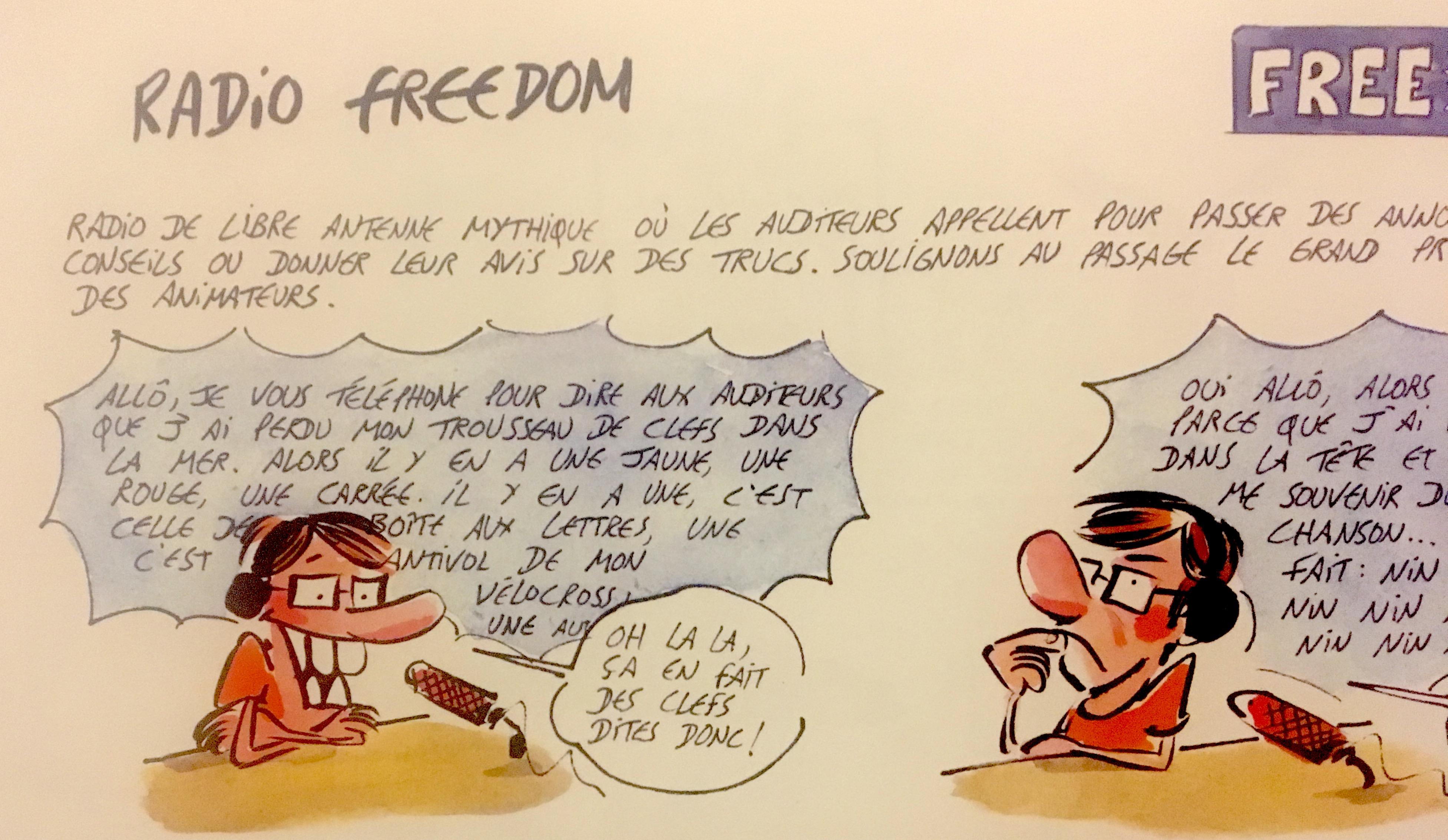 Radio freedom, île de la réunion