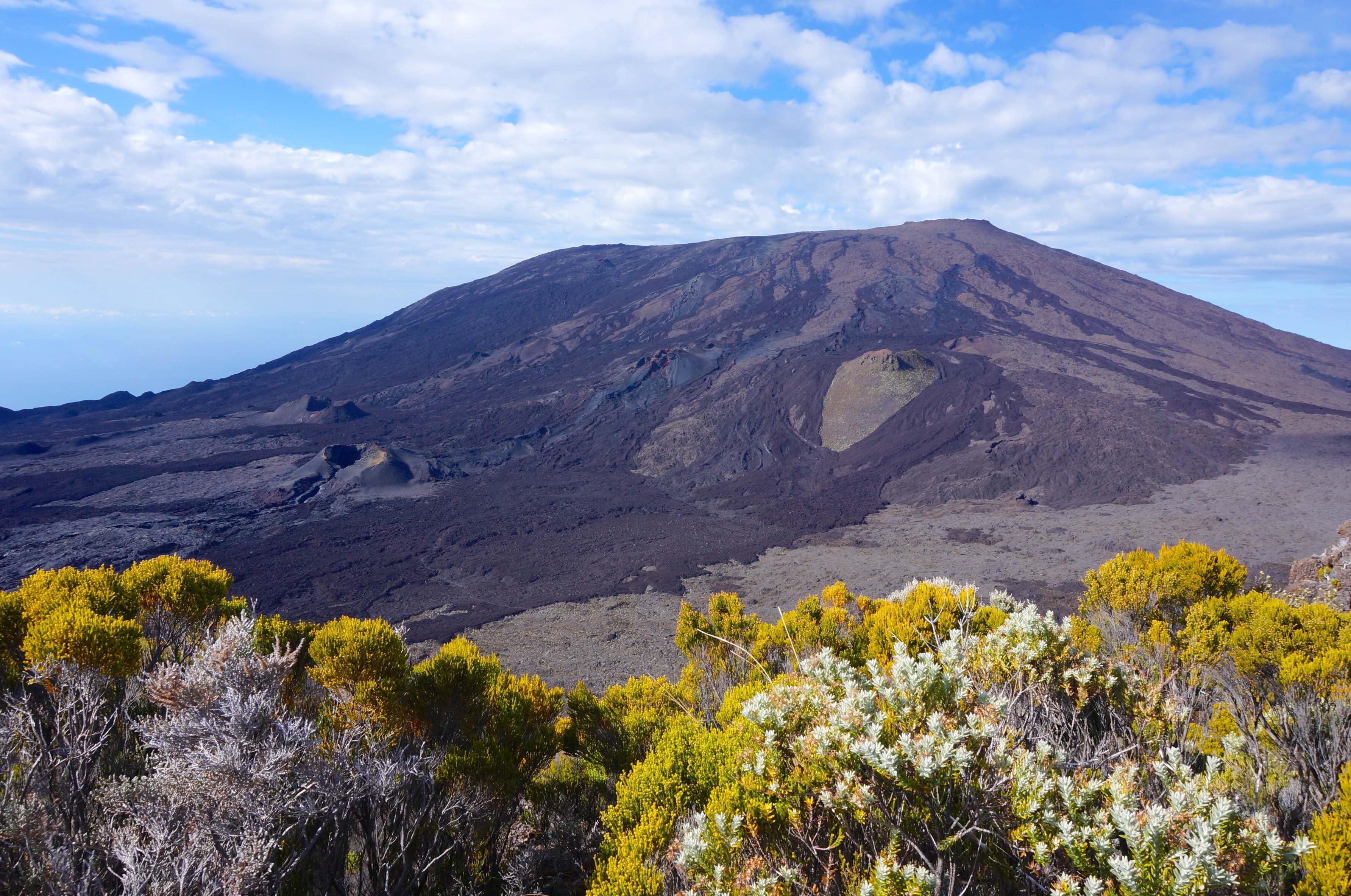 volcan piton de la fournaise, la réunion