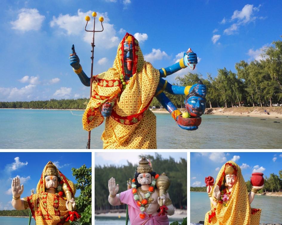 ile maurice, mont choisy, temple hindoue