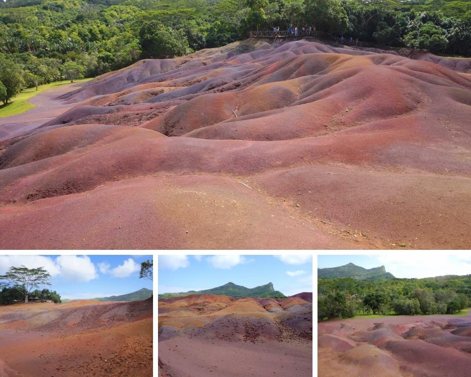 terre des 7 couleurs, chamarel, ile maurice