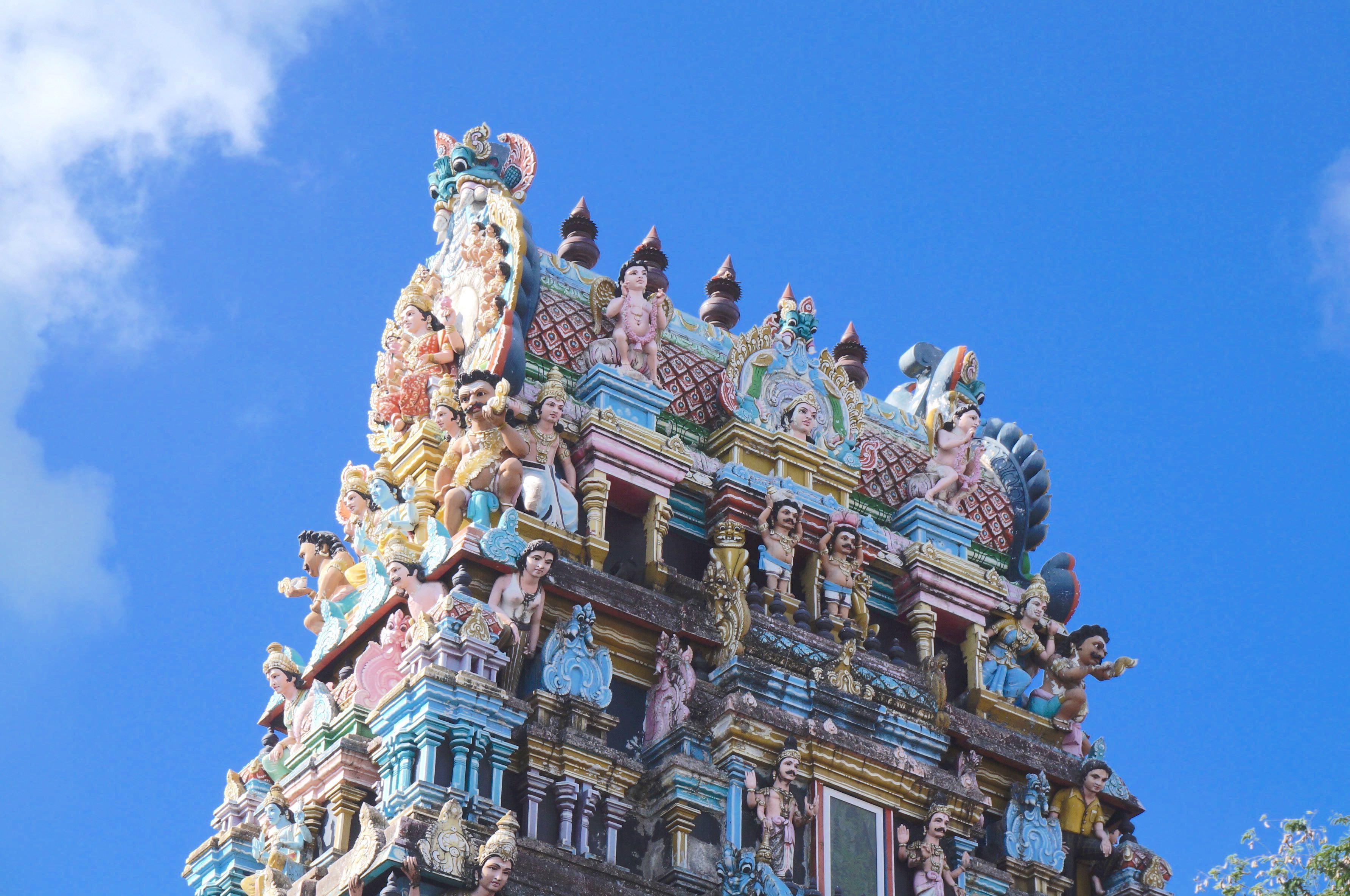 temple, île maurice