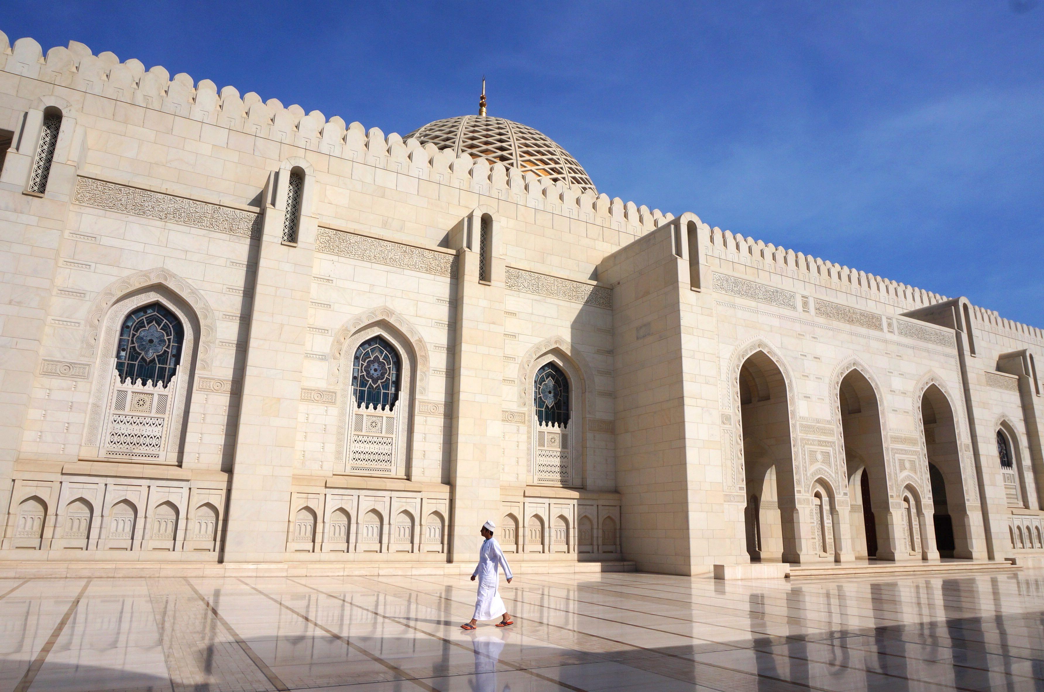 mascate, mosquée, oman